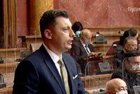 Obraćanje u Skupštini 22. 04. 2021. g. – Narodni poslanik SPP-a Samir Tandir