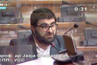 Obraćanje u Skupštini 13. 04. 2021. g. – Narodni poslanik SPP-a dr. Jahja Fehratović